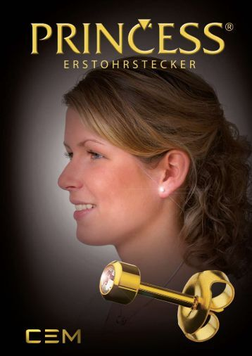 Princess Ohrstecker (PDF | 1 MB) - Carl Engelkemper Münster