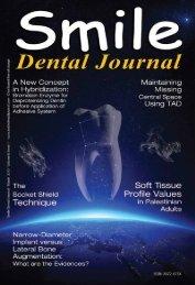 Download e-copy - Smile Dental Journal