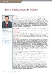 Tissue Engineering: An Update - Smile Dental Journal