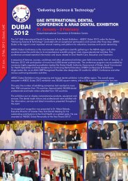 31 Jan. - 2 Feb, 2012 | Dubai, U AE - Smile Dental Journal