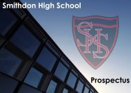 School Prospectus - Smithdon High School, Hunstanton, Norfolk