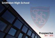 Prospectus - Smithdon High School, Hunstanton, Norfolk