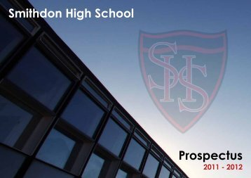 Prospectus - Smithdon High School, Hunstanton, Norfolk