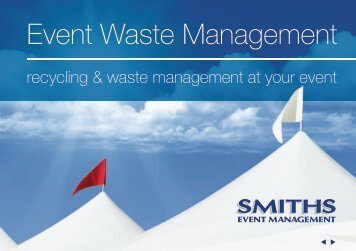 Event Recycling - Smiths Gloucester