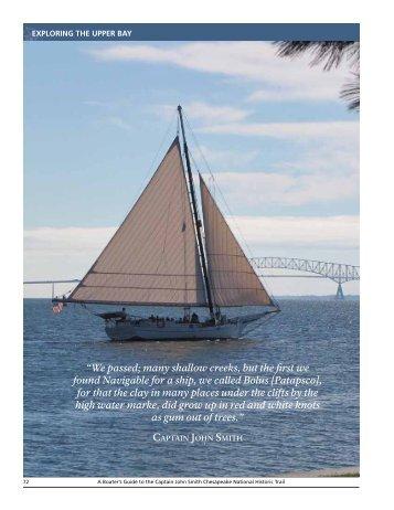 Patapsco River - Captain John Smith Chesapeake National Historic ...