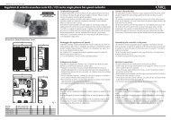 Regolatori di velocità monofase serie FCS / FCS series single phase ...