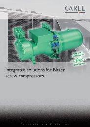 Integrated solutions for Bitzer screw compressors - Carel