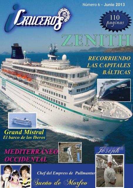 revista icruceros 6º número Entrevistamos al Sueño de Morfeo