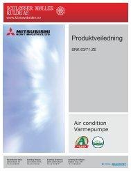 Produktveiledning - SRK/SRC-ZK - Mitsubishi Heavy Industries
