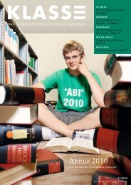 Abitur 2010 - Sächsisches Staatsministerium für Kultus - Freistaat ...