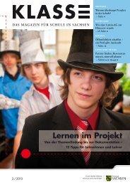 Klasse 2010 - Ausgabe 3 - Sächsisches Staatsministerium für Kultus