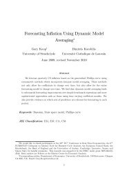 Forecasting Inflation Using Dynamic Model Averaging