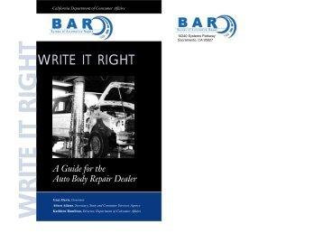 4 every manual based on a autobodyweb vers bureau of automotive repair fandeluxe Choice Image