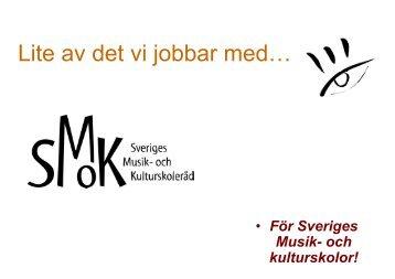 Nulägesrapport 2012, länsvisa diagram och tabeller - SMoK ...