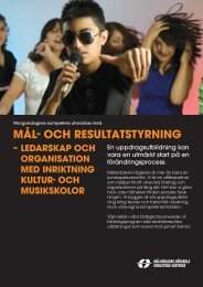 MÃ¥l och resultatstyrning TR - SMoK - Sveriges Musik