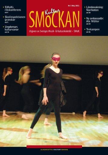 KULTURSMOCKAN nr 3/2011.pdf - SMoK - Sveriges Musik