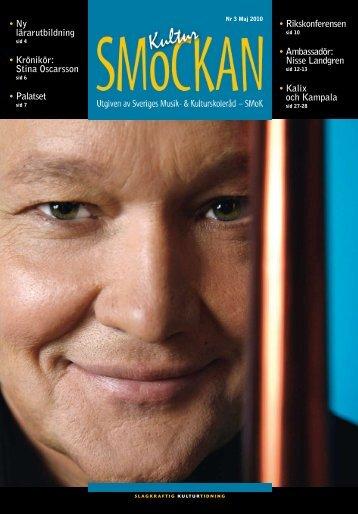 KULTURSMOCKAN nr 3/2010.pdf - SMoK - Sveriges Musik