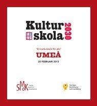Program Umeå - SMoK - Sveriges Musik