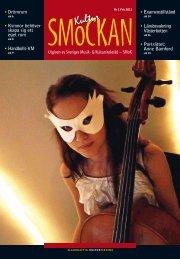 KULTURSMOCKAN nr 1/11.pdf - SMoK - Sveriges Musik