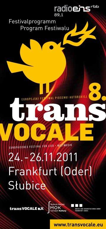 Zobacz program festiwalu - Słubice