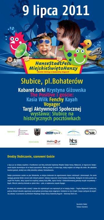 Zobacz program imprezy - SMOK - Słubice