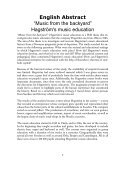 Hagström's Music Education - Luleå University of Technology - Page 5