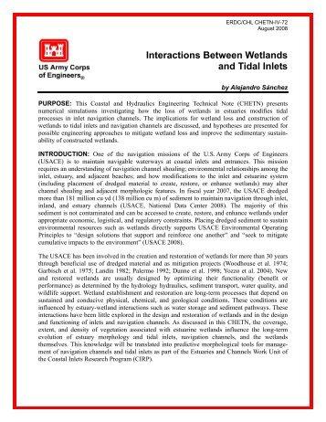 ERDC/CHL CHETN-VI-72, Interactions Between ... - CHL - U.S. Army