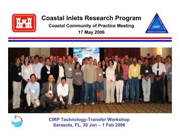 19 CIRP Coastal CoP.pdf - Coastal and Hydraulics Laboratory