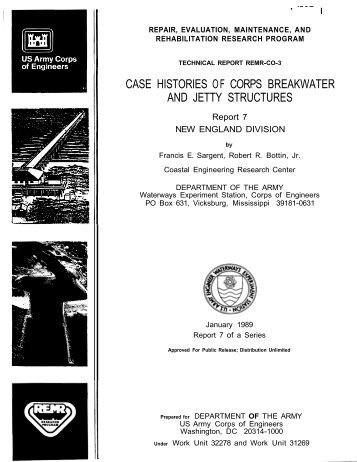case histories of corps breakwater and jetty ... - CHL - U.S. Army