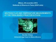 neutronic analysis of the pavia university triga mark ii reactor core
