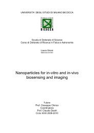 Nanoparticles for in-vitro and in-vivo biosensing and imaging