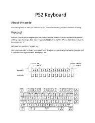 PS/2 Keyboard