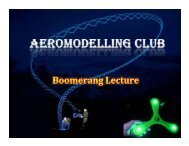 Boomerang Lecture