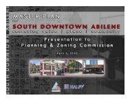 Presentation - City of Abilene, Texas