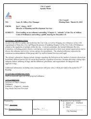 City Council Agenda Memo City Council TO - City of Abilene, Texas