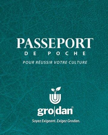 Passeport de poche