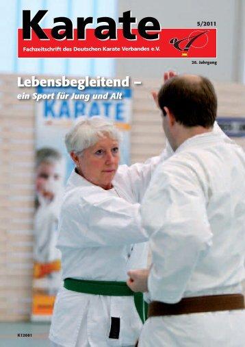 DKV-Magazin Nr. 5 - Chronik des deutschen Karateverbandes