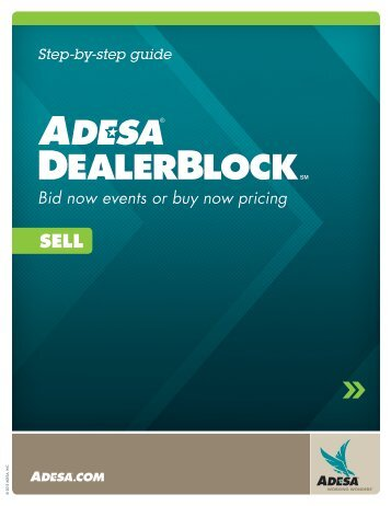 Step-by-step Guide - ADESA.com