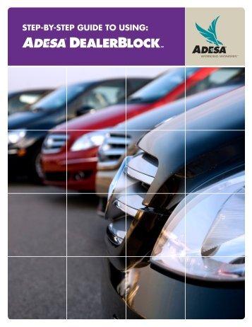 DealerBlock step-by-step guide - ADESA.com