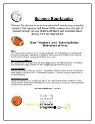 Science Sportacular - Liberty Science Center