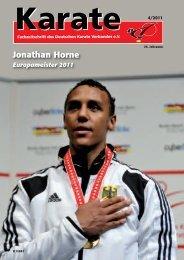 DKV-Magazin Nr. 4 - Chronik des deutschen Karateverbandes