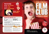 Film Club Programme