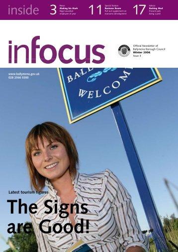 The Signs are Good! - Ballymena Borough Council