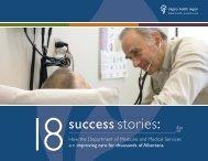 18success stories: - Department of Medicine