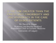 Is the Sum Greater than the Parts? Multimorbidity and Polypharmacy ...