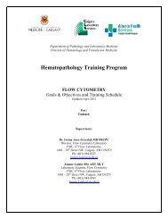 Flow Cytometry - Department of Medicine