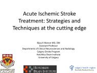 Acute Ischemic Stroke Treatment: Strategies and Techniques at the ...