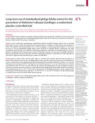 Long-term use of standardised ginkgo biloba extract for the ...