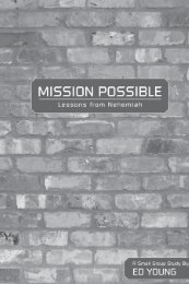 Mission Possible: Lessons from Nehemiah - LifeWay