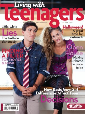 Living with Teenagers Magazine - October 2010 - LifeWay